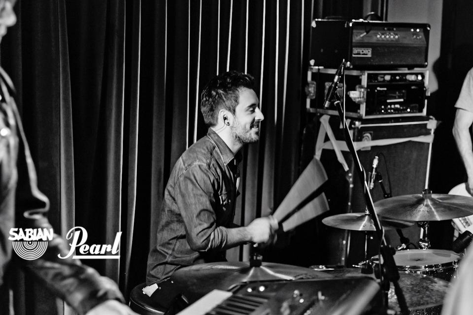 Oli Friedrich drums drummer schlagzeug berlin