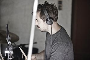 Oli Friedrich Aufnahmen für das Album Mano Grande von Georg Auf Lieder